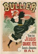 Vintage French advertising poster - BULLIER